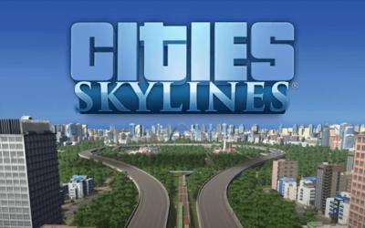 Cities:Skylinesのゲームトップ画像